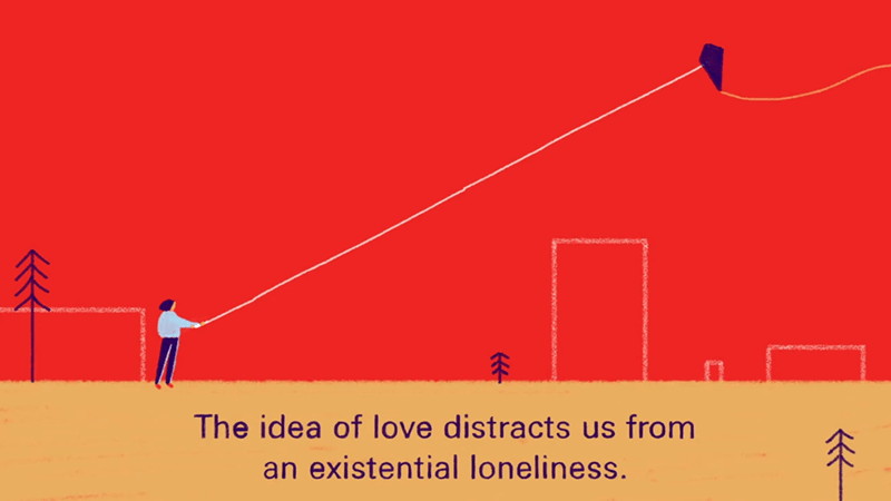 love distracts from forever alone truth