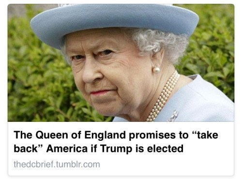 england donald trump image You Can Tell She Means It Too