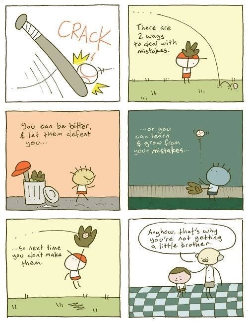 fatherson,baseball,mistakes,web comics