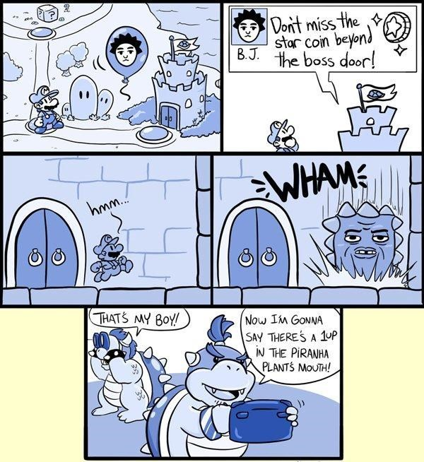trolling comics bowser video games - 8770990336
