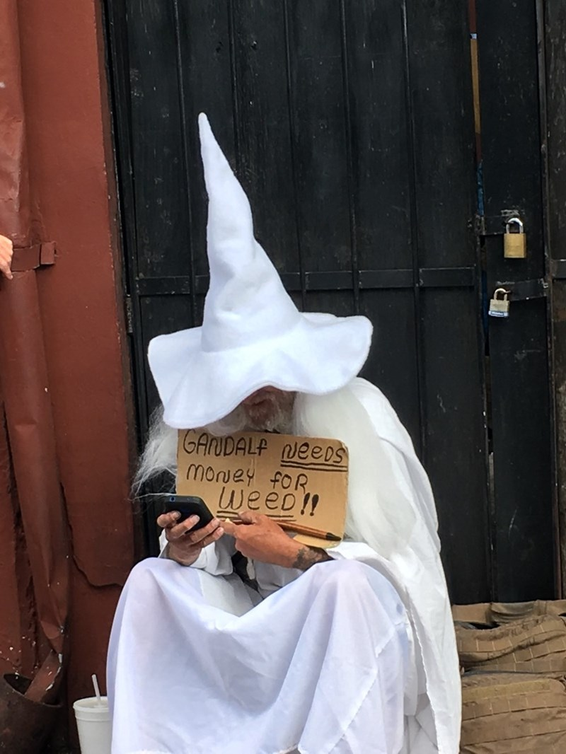 signs honesty gandalf What Did You Think He Had in That Magical Pipe?
