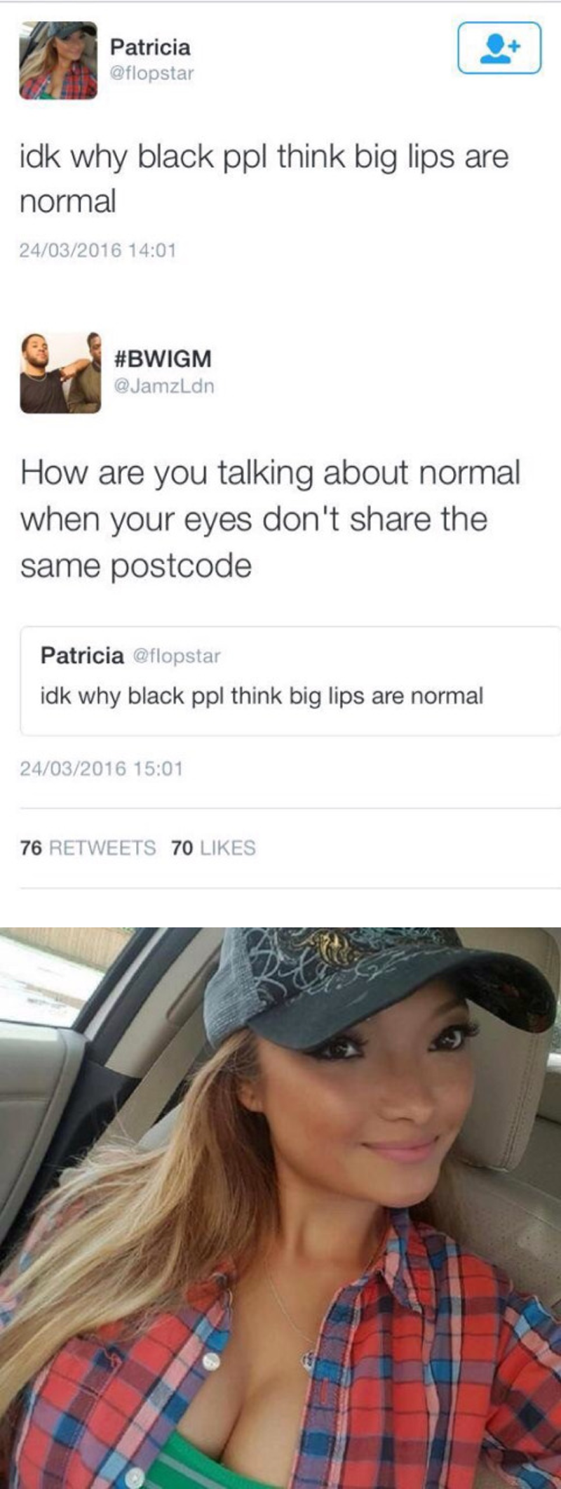 eyes don't share the same postcode