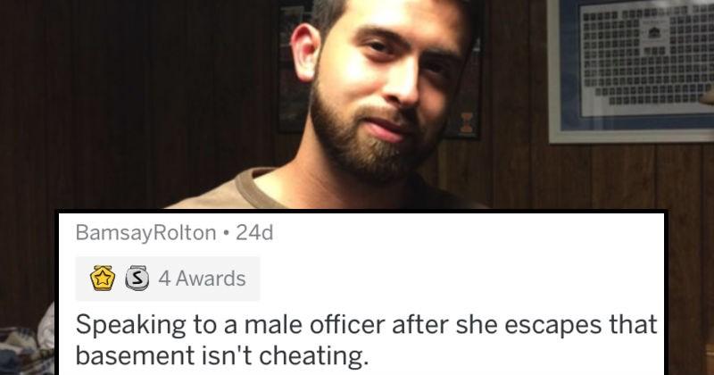 Guy's girlfriend cheats on him so he asks people to roast him on Reddit.