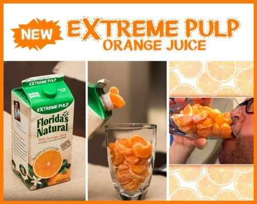 orange juice pulp image It's Got All the Pulp You Want... And More!