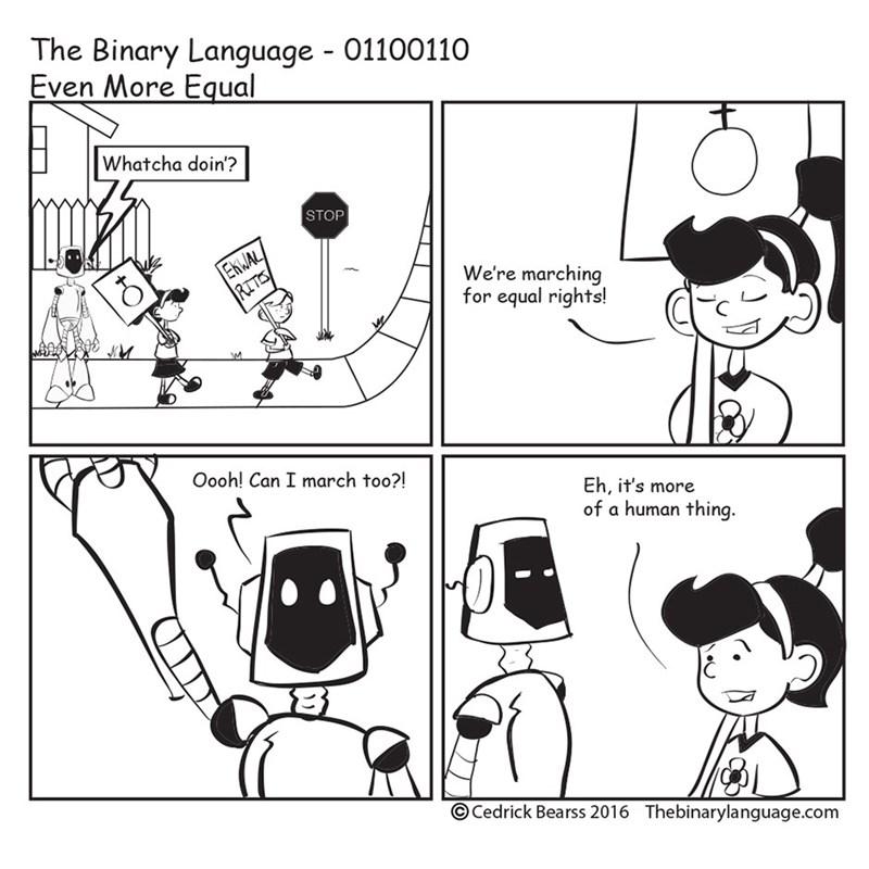 equality feminism robot web comics - 8772007168