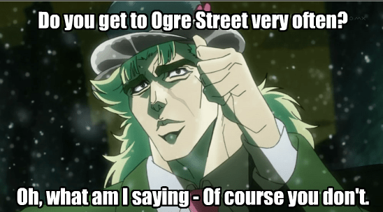 Even Speedwagon Gets This Reference