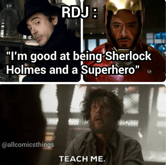 Robert Downey Jr's Got You Covered Doctor Strange