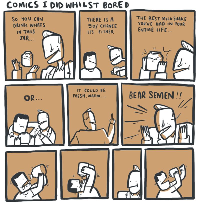 bears trolling milkshake web comics - 8772328960