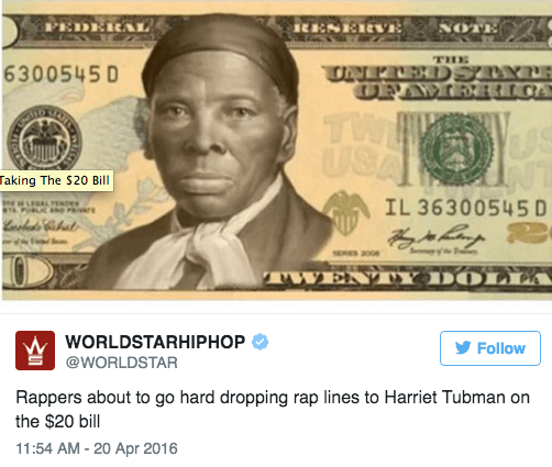 Of Course The Internet Reacted To Harriet Tubman Being Put On The 20 Bill With Memes Memebase Funny Memes