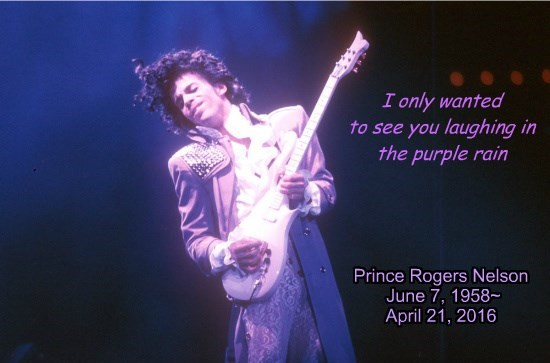 Rest Easy, Prince.