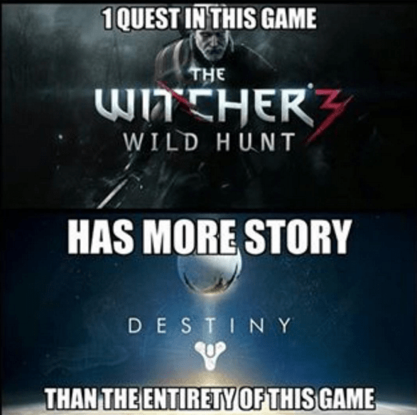 the-witcher-wild-hunt-vs-destiny-storyline-logic