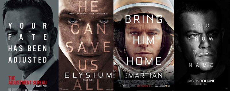 matt damon movies posters Matt Damon Movie Coming Up? I've Got the Perfect Design for a Poster
