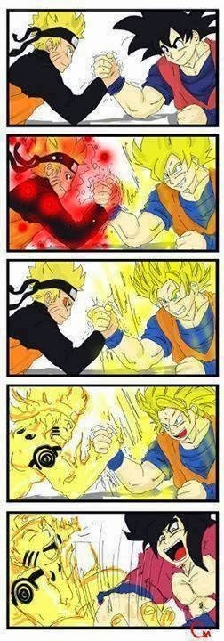 anime dragonball z arm wrestling - 8772675840