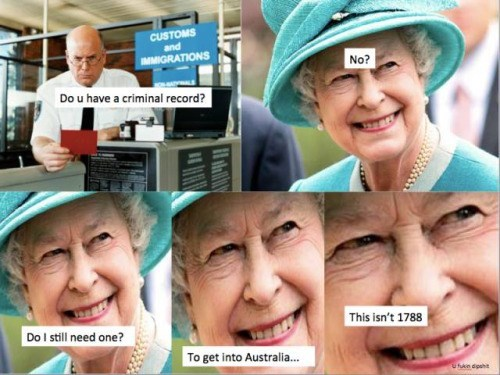 history queen australia Australia Is a Wonderful Island, It Has to Be Protected