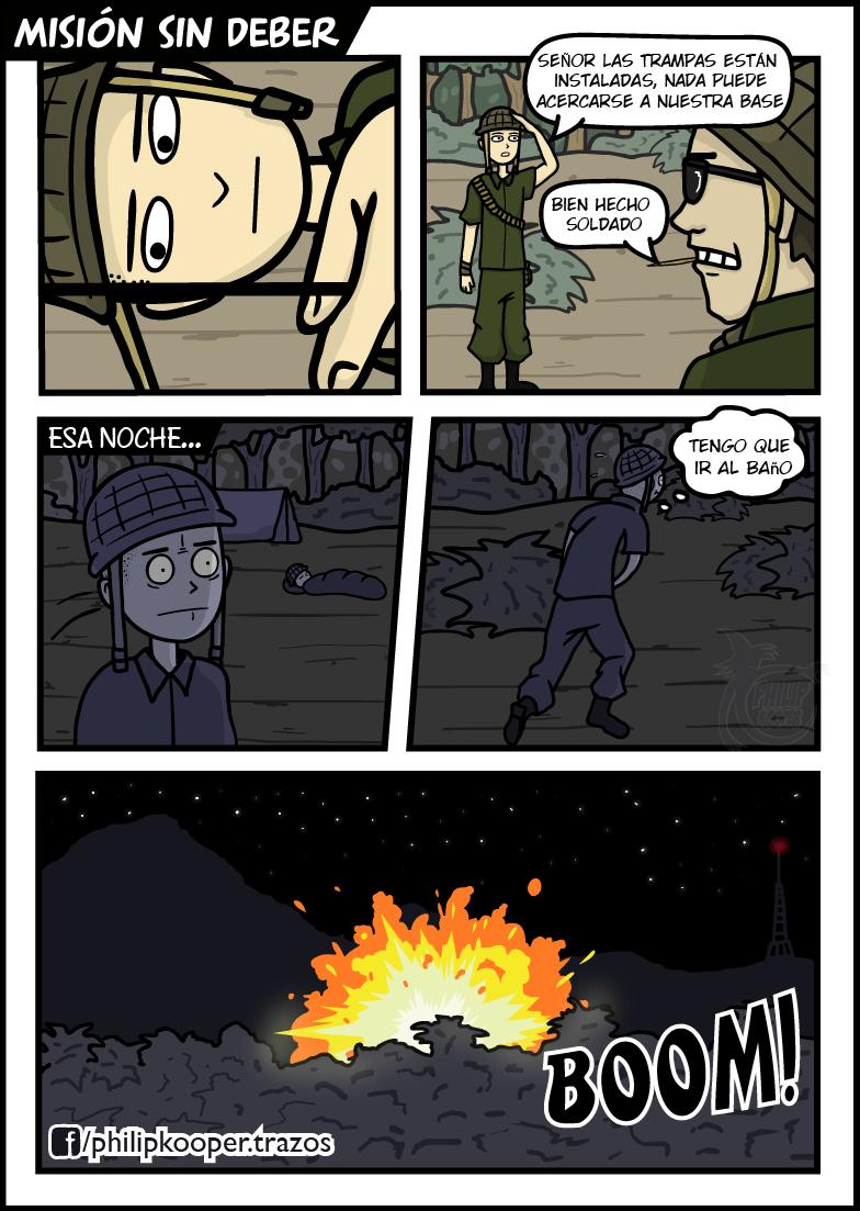 perdiendo la guerra