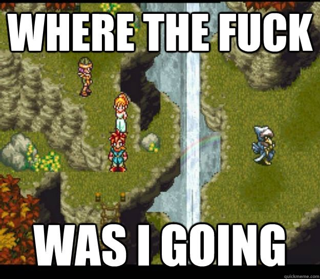 When You Return to an RPG After an Extended Vacation