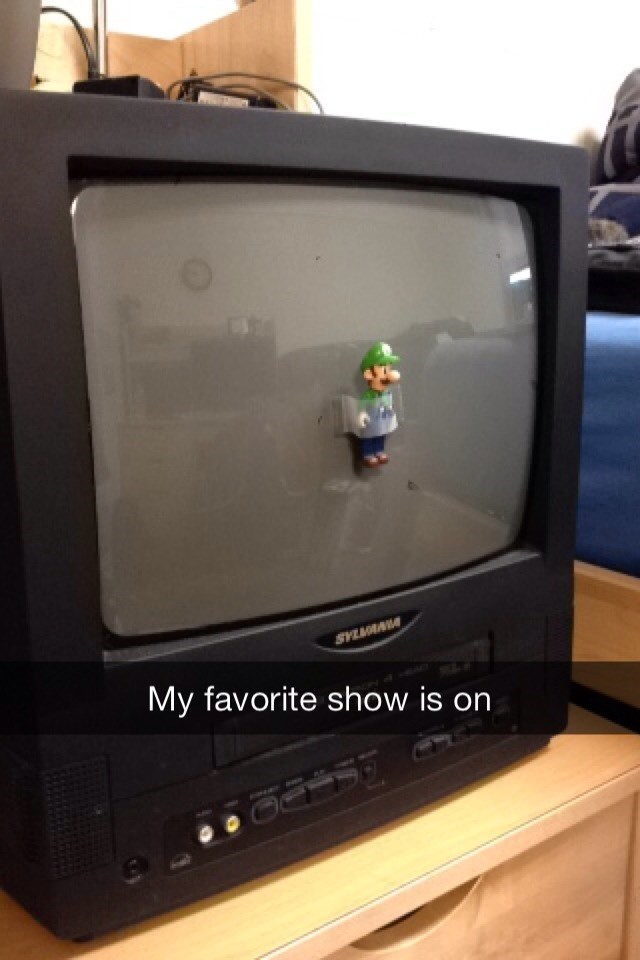image luigi tv Shhh, This is My Favorite Part