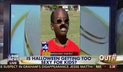 is halloween too sexy for kids