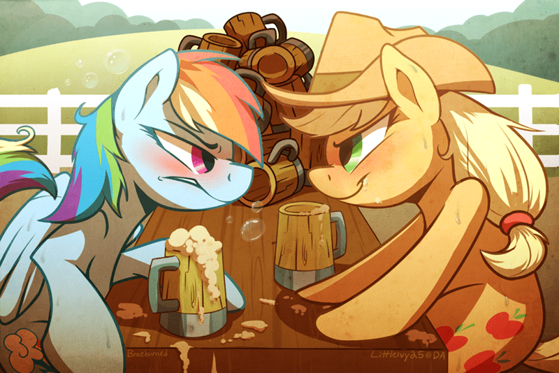 applejack liver damage rainbow dash - 8772967680