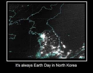 earth day image north korea They Must Really Take It Seriously