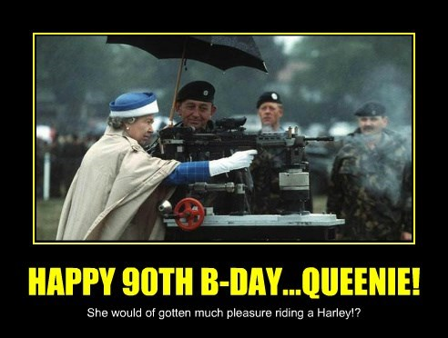 HAPPY 90TH B-DAY...QUEENIE!