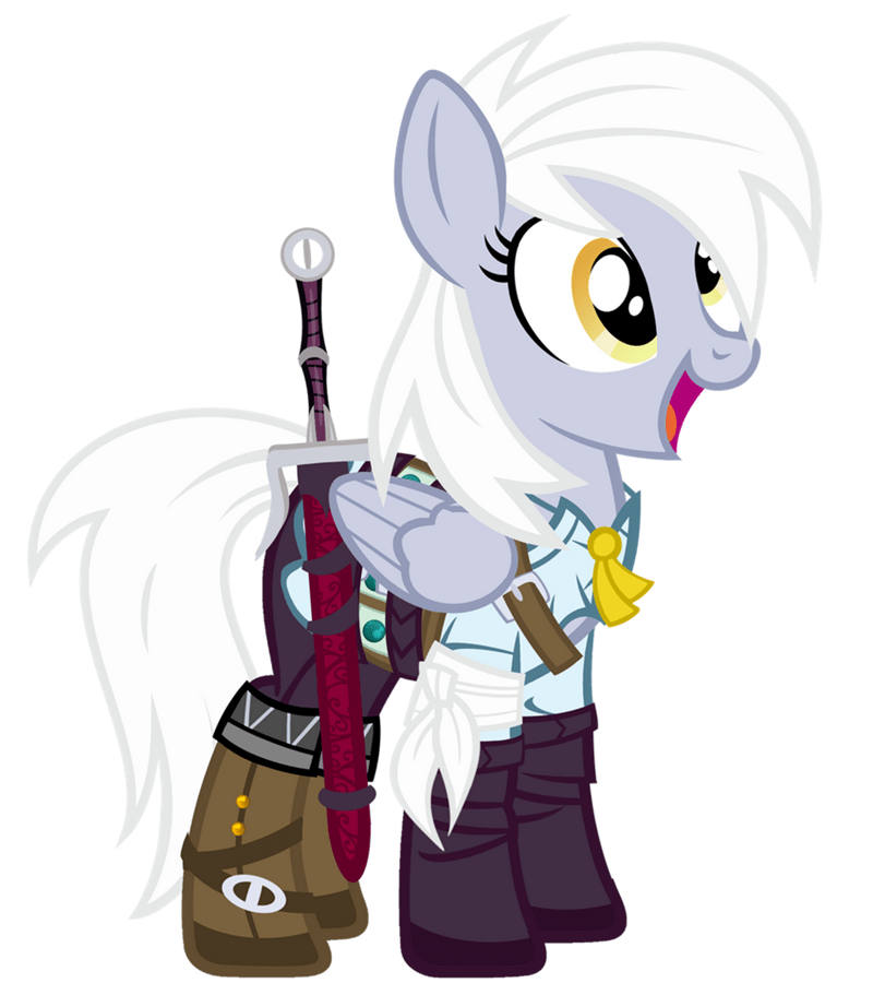 cosplay derpy hooves the witcher ciri - 8773293824
