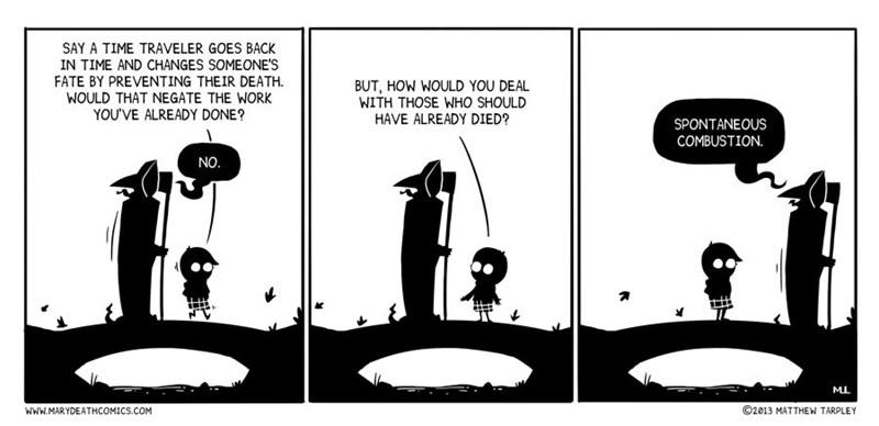 Death grim reaper web comics - 8773481984