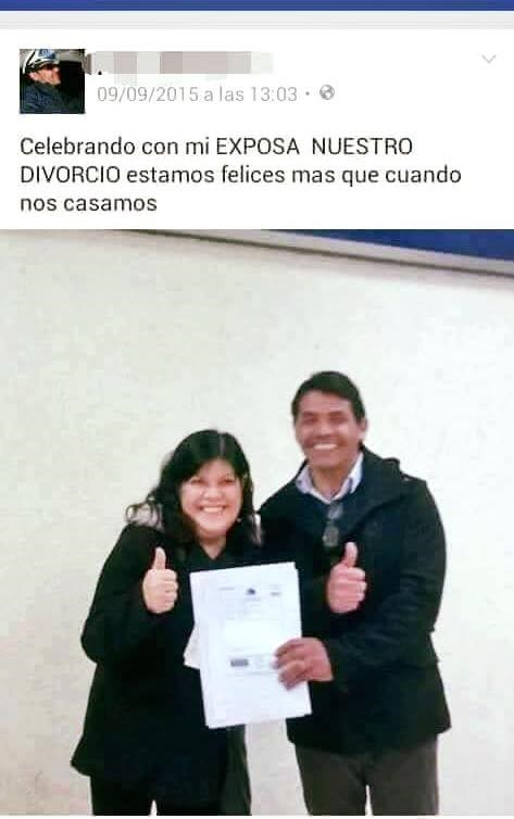 celebrando divorcio