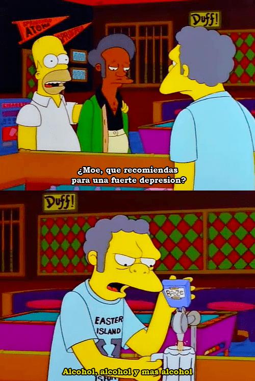 alcohol y mas alcohol
