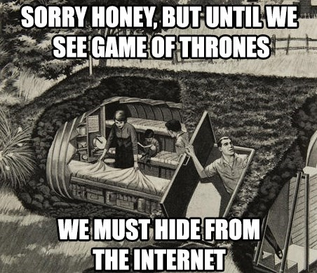 we must hide from the internet