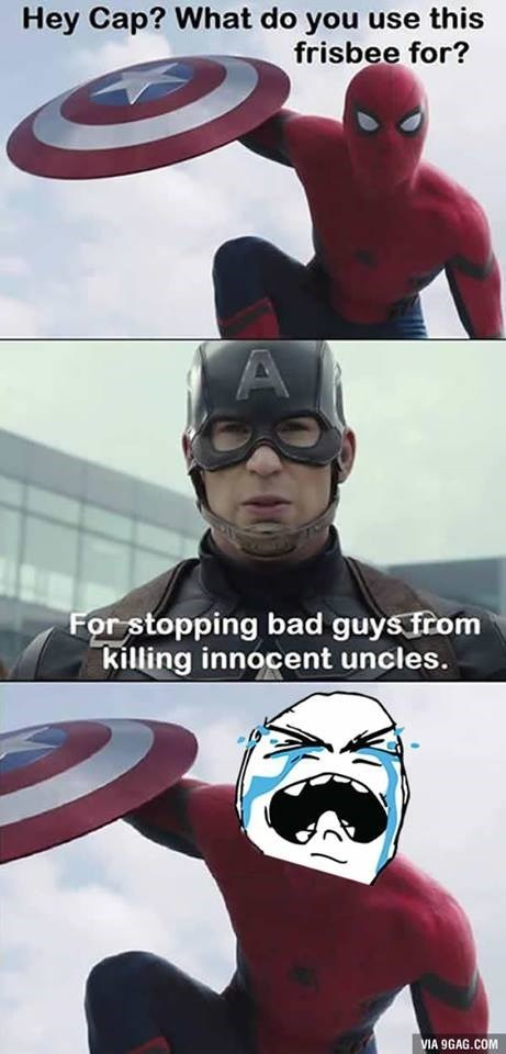 superheroes-captain-america-spider-man-shield-insult
