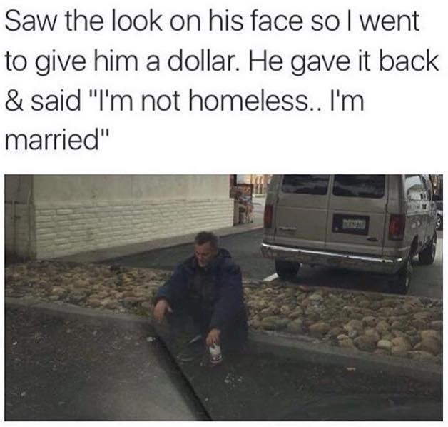 dating homeless marriage