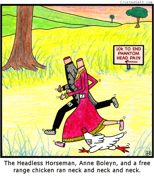 web-comics-headless-racing-neck-to-neck-chicken