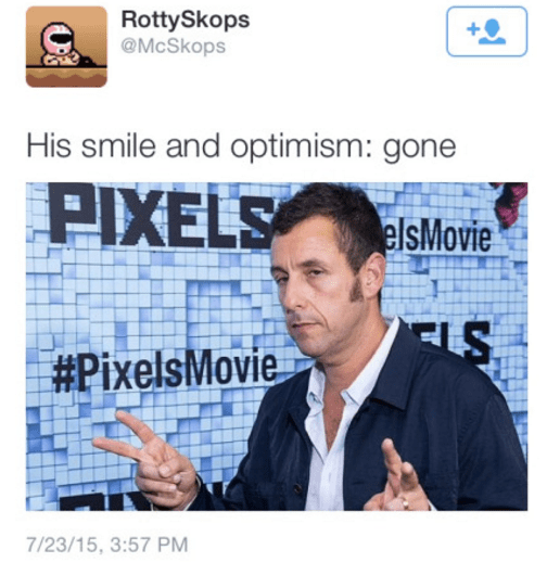image adam sandler twitter At Least He Knows What He's Done