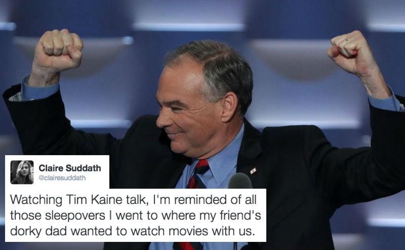 presidential nominee tim kaine