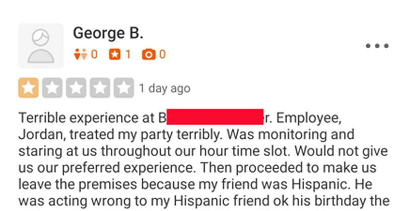 Yelp, funny story, restaurant review