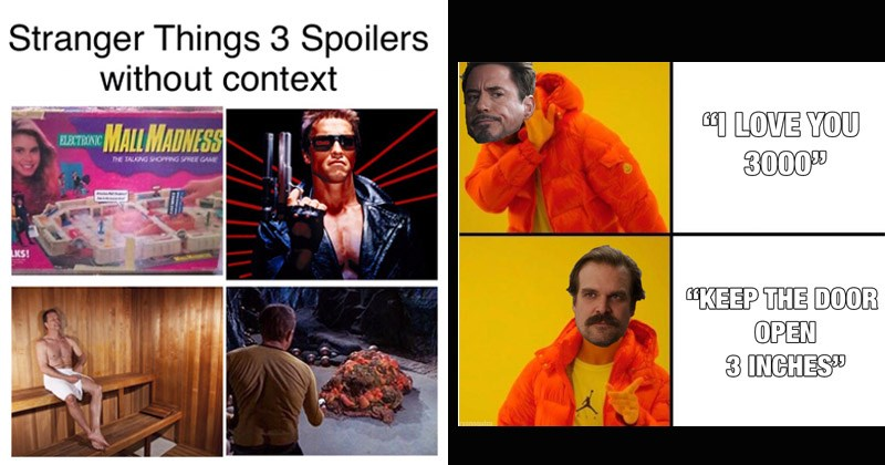 Funny memes about season 3 of Stranger Things