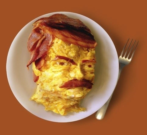 image ron swanson breakfast I Hope You Used ALL the Eggs and Bacon to Make This