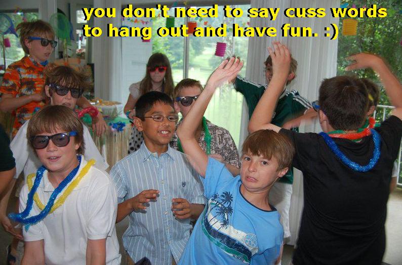 image party psa Remember Kids