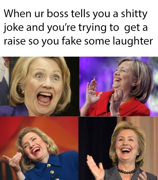 image fake laughter That's SO Funny!