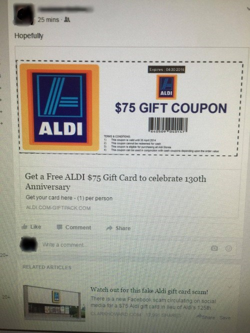 gift card failbook deals