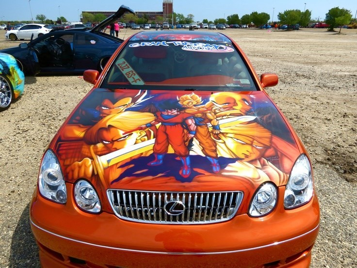 cars,dragonball z,goku,funny