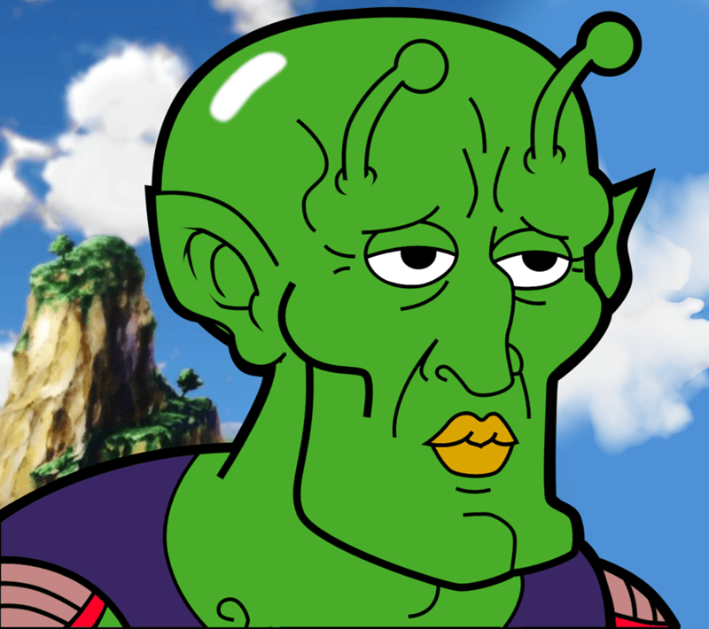 piccolo,Dragon Ball Z,manga
