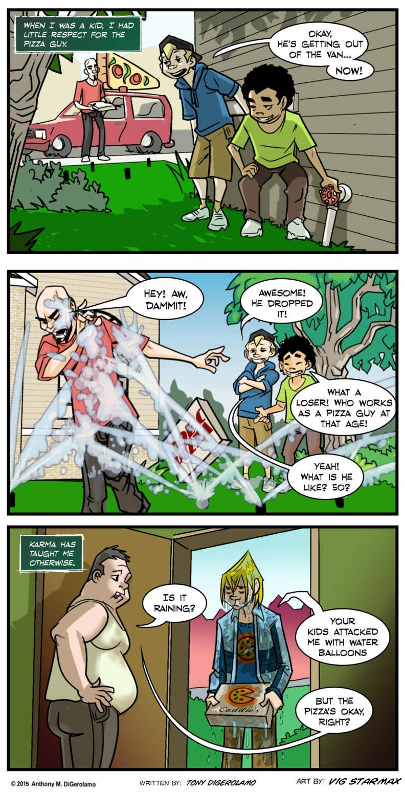 pizza karma web comics - 8793101056