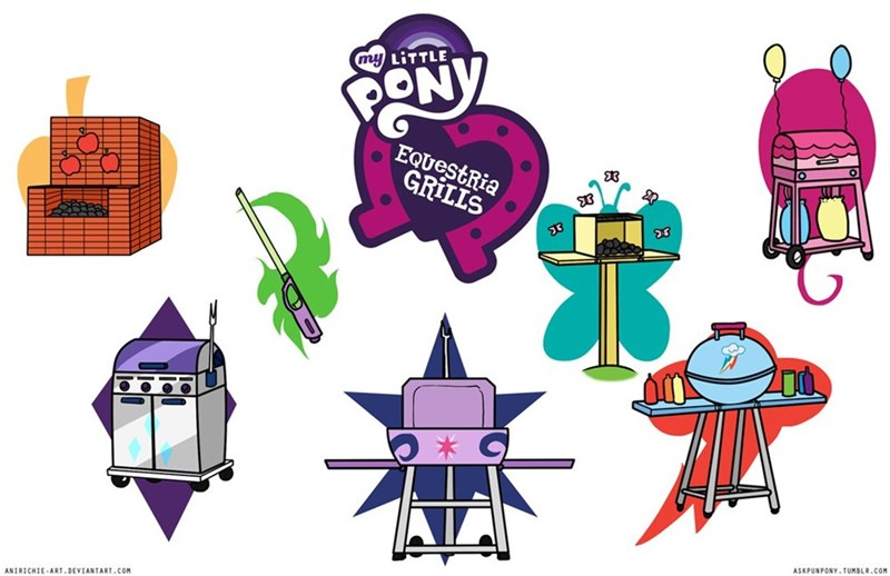 spike applejack equestria girls twilight sparkle grills pinkie pie rarity ponify fluttershy rainbow dash - 8793103360