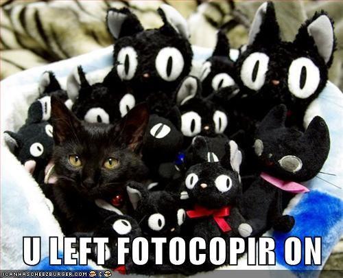 U LEFT FOTOCOPIR ON