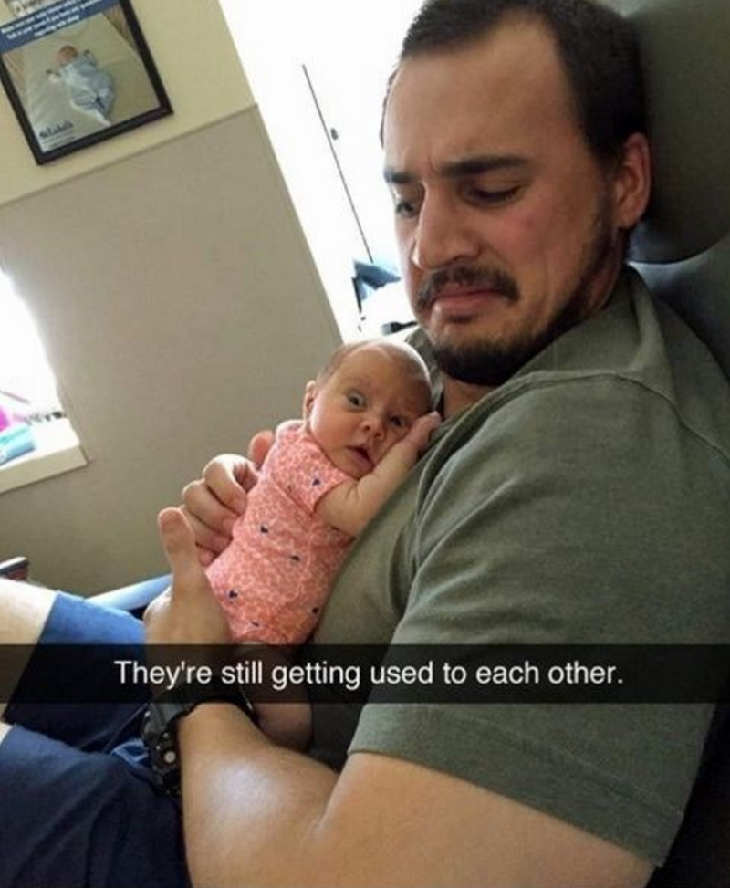 baby-dad-adjustment-period-cute-picture