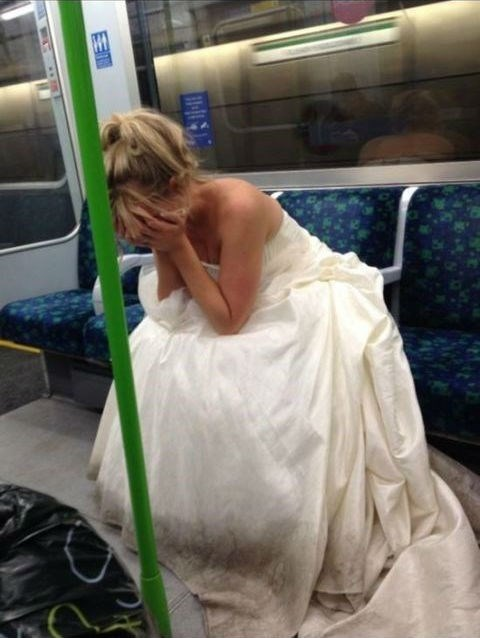 crying-bride-on-subway-newly-single