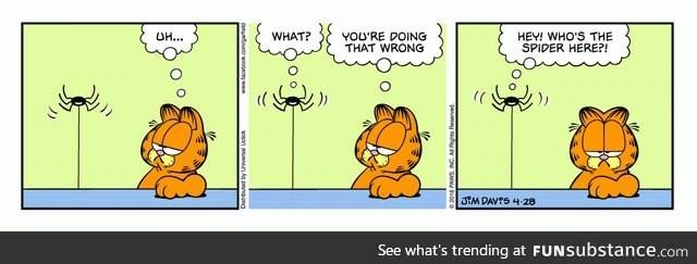 Web Comics Garfield 4koma Comic Strip Webcomics Web Comics Cheezburger