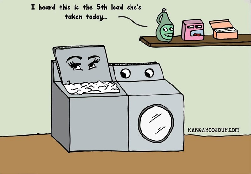 laundry washing machine funny web comics - 8793483008